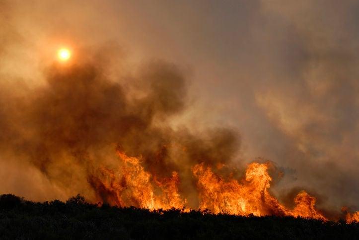 fire wildfire stockimage