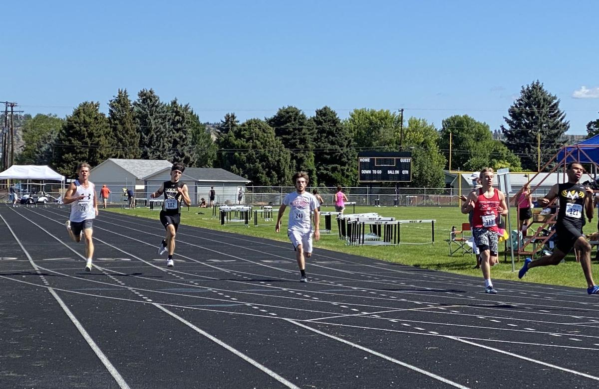 Big Sky State Games boys 100