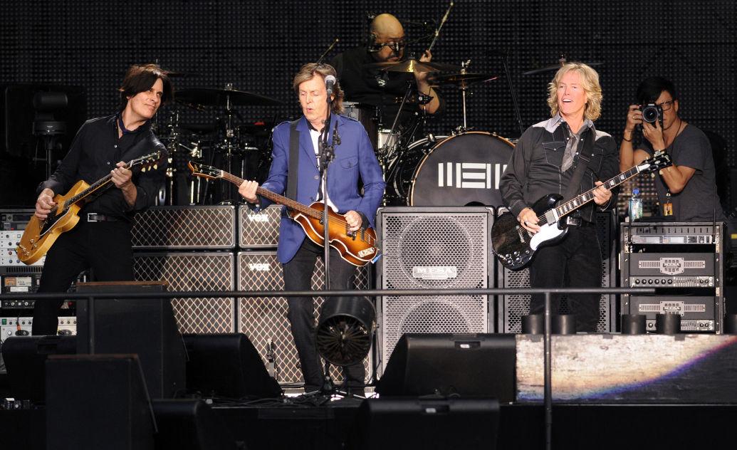 McCartney and his longtime band