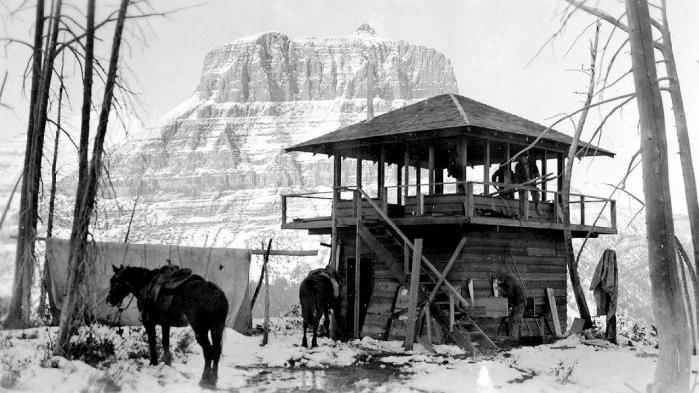 Author Chronicles History Of Glacier Park S Fire Lookouts