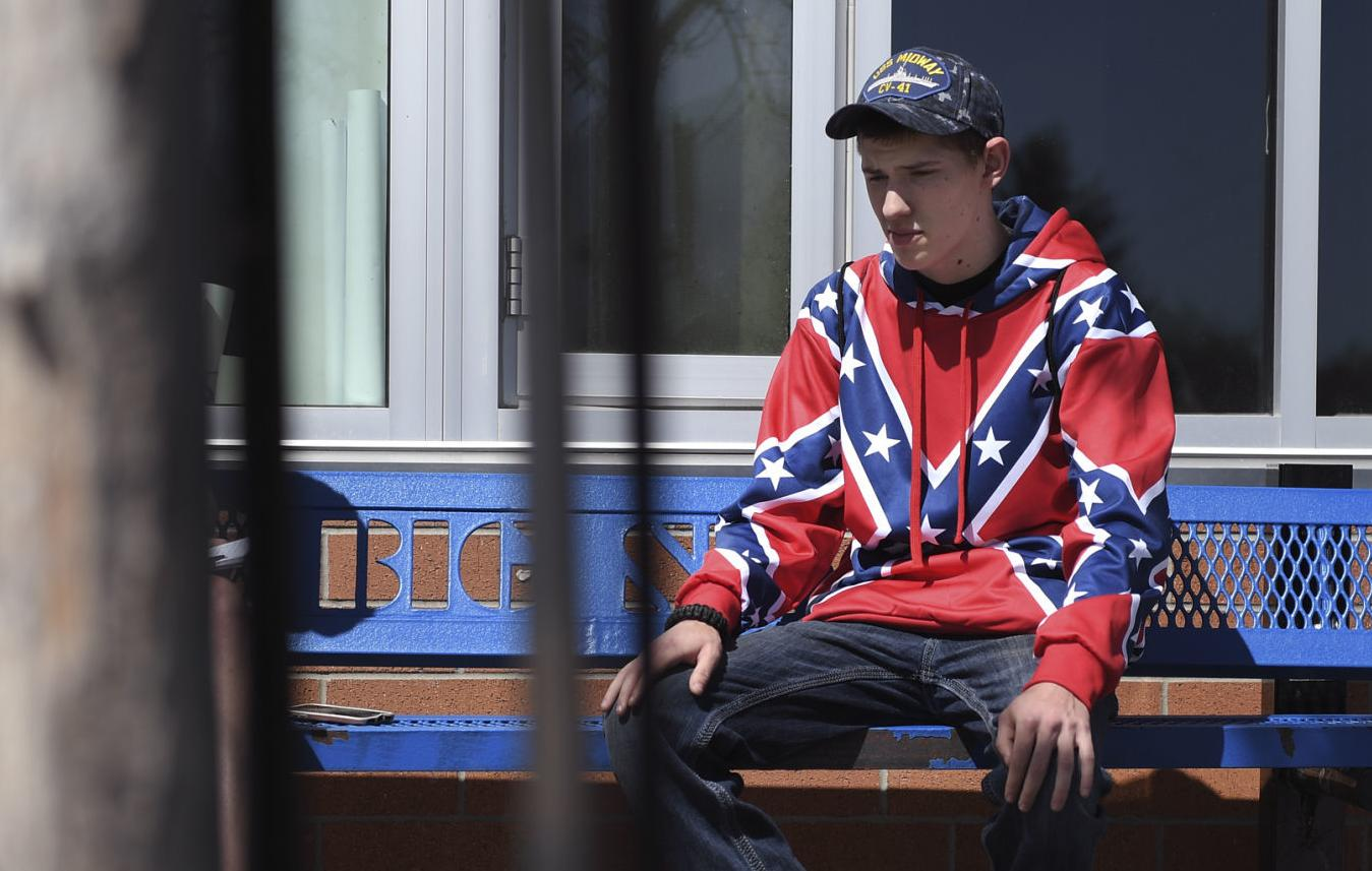 Big Sky High School student suspended for repeatedly wearing Confederate flag sweatshirt