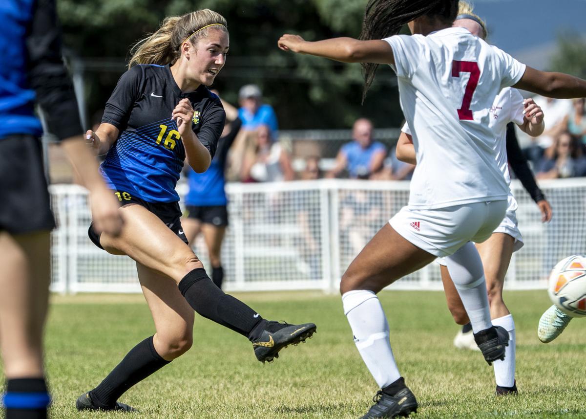 Big Sky girls soccer vs Helena 01