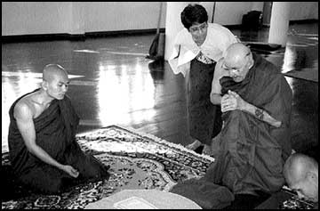 Polson man relates Buddhism to spiritual environmentalism