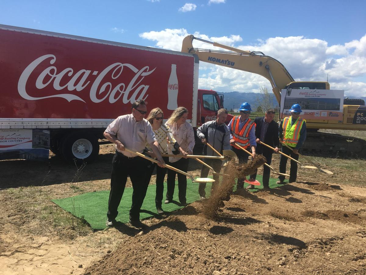 Coca Cola groundbreaking