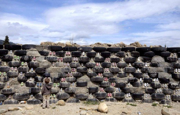 how to build an earthship in washington state