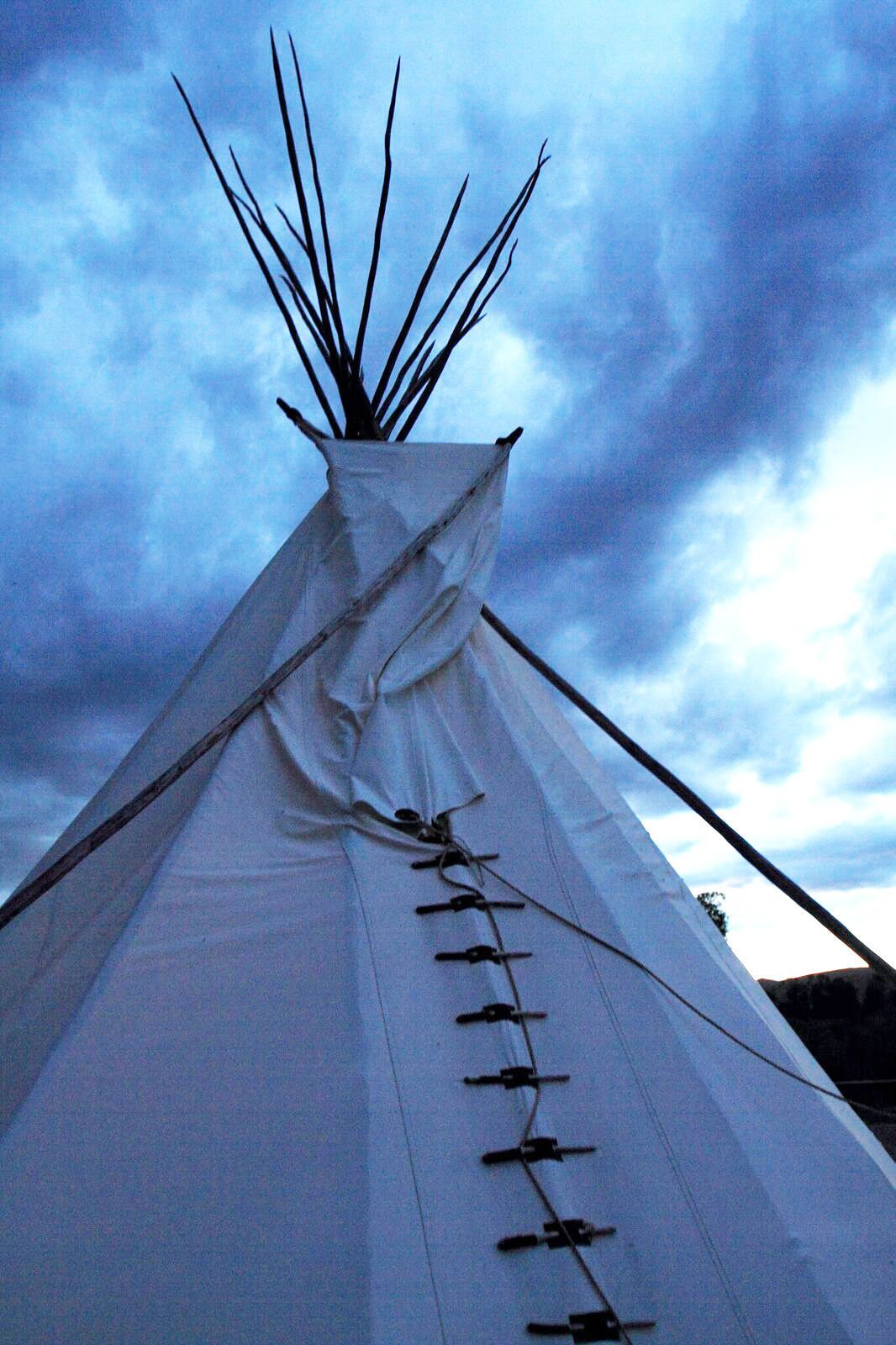 Missouri Headwaters State Park tipi