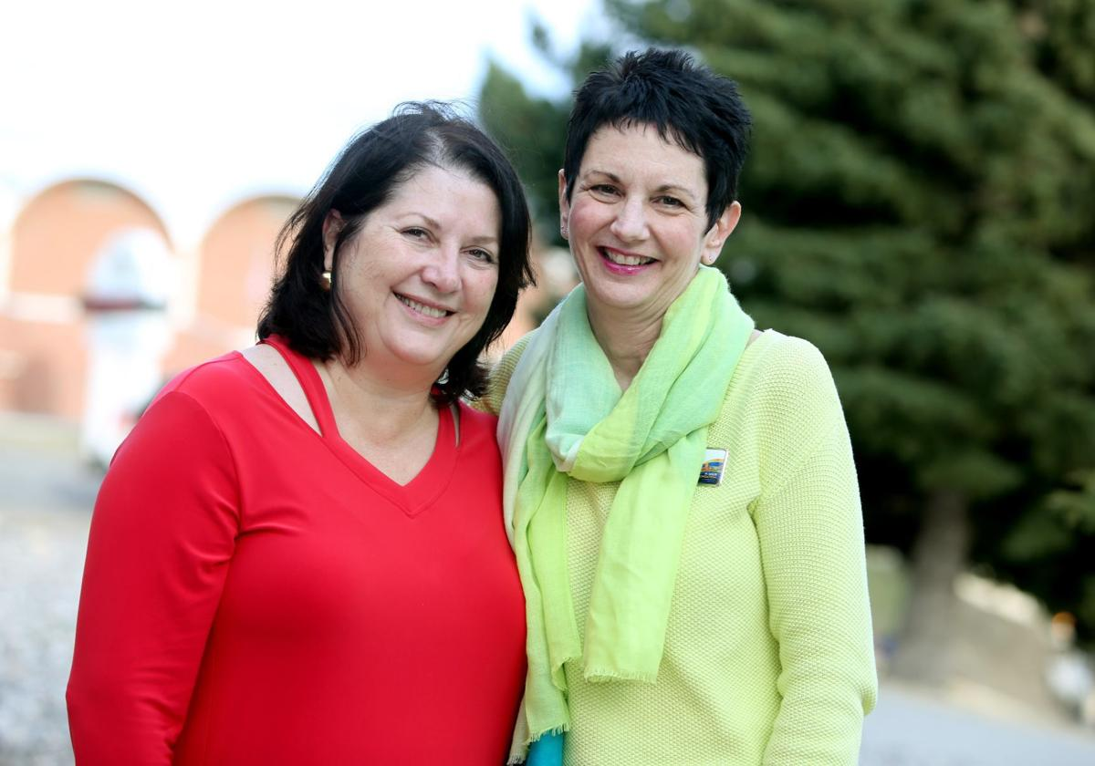 Amy Gibler Brown and Jeanne Moller