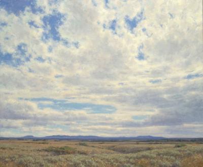 Montana Legacy 50x60 oil on linen by Clyde Aspevig