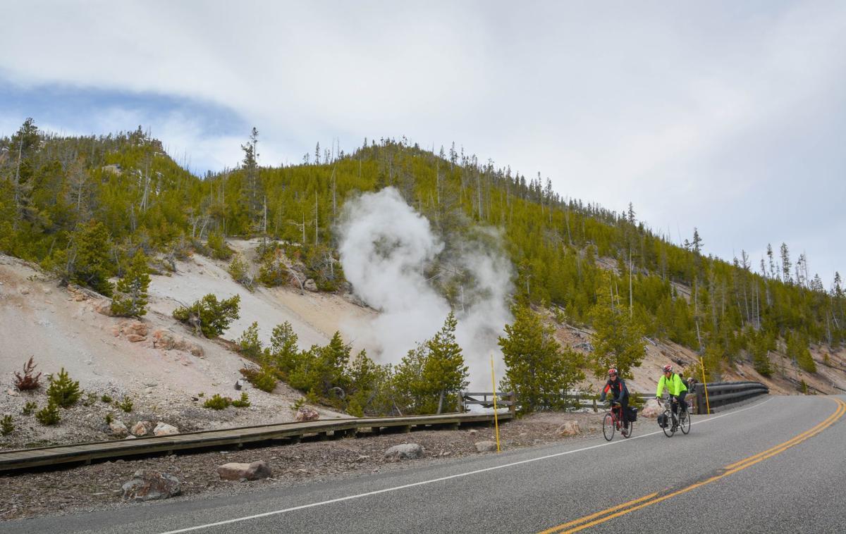 Cycling in Yellowstone