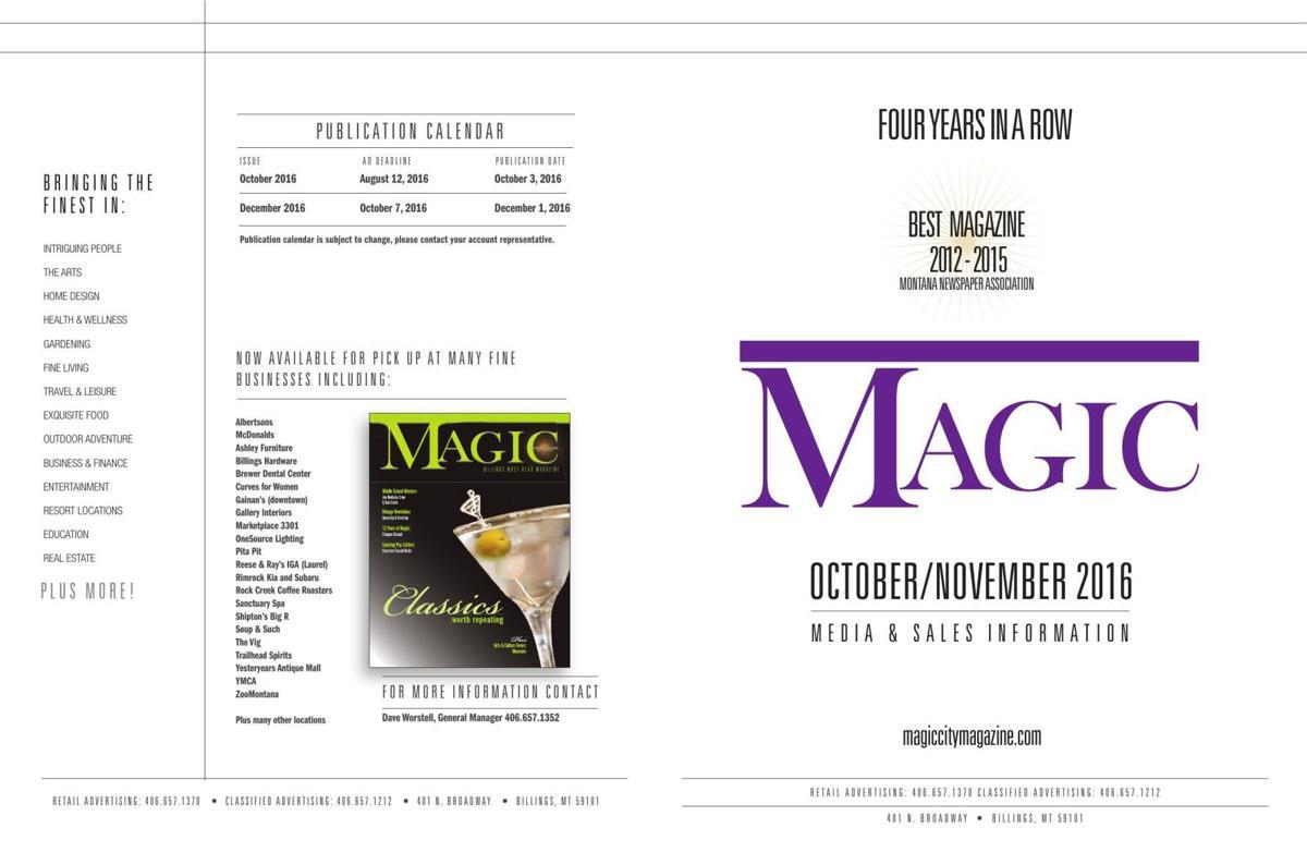 Magic City Magazine advertising