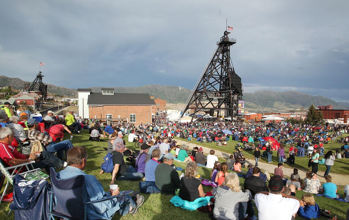 2016 Montana Folk Festival Opening