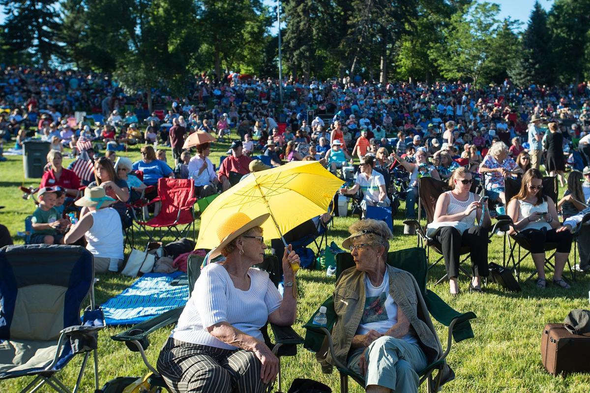 Symphony in the Park crowd
