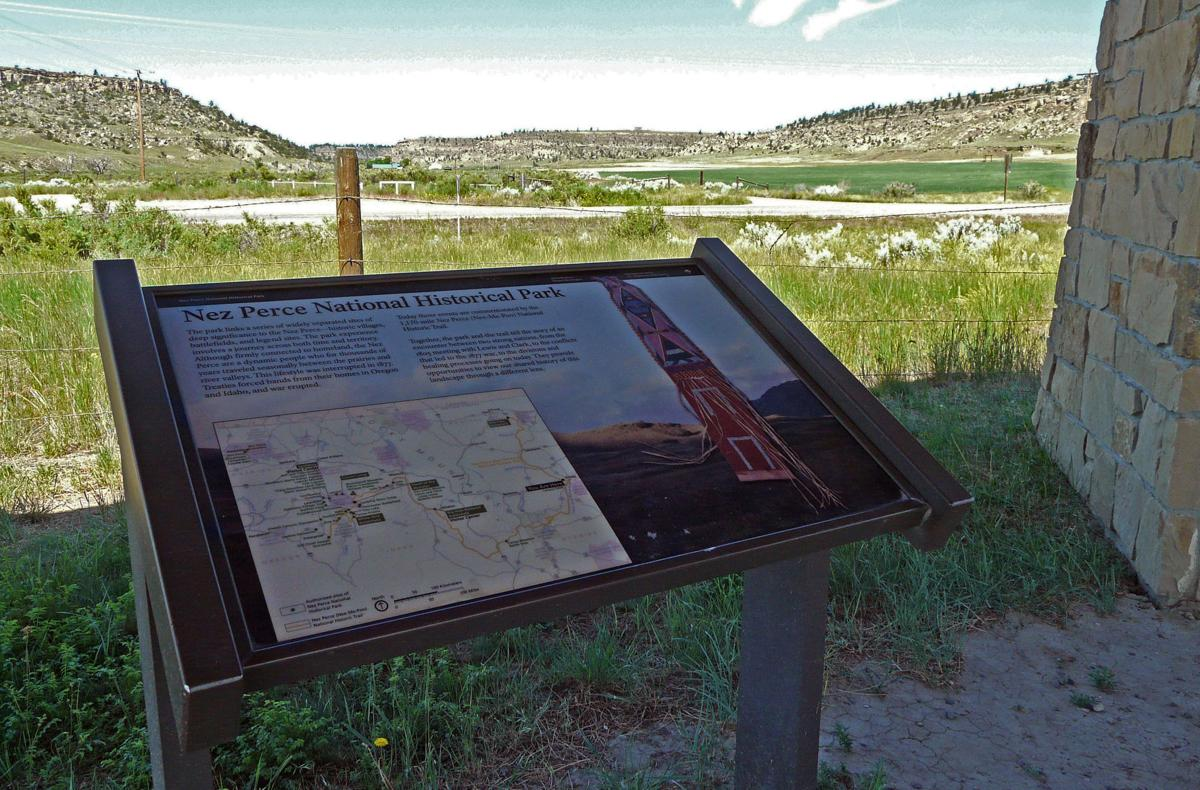 Battle of Canyon Creek interpretive signs