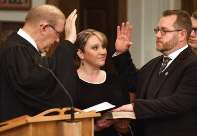 Ewing sworn in