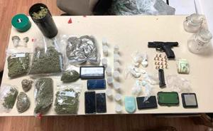 After chase, man jailed on drug charges
