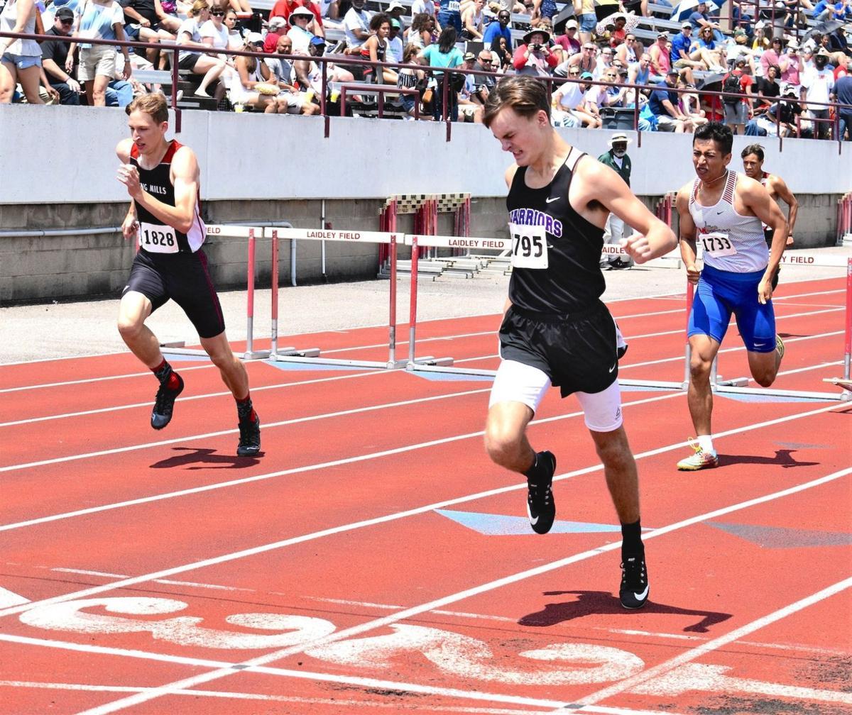 Casto in 300 hurdles