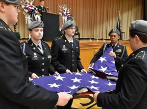 Old Glory takes center stage at veterans event