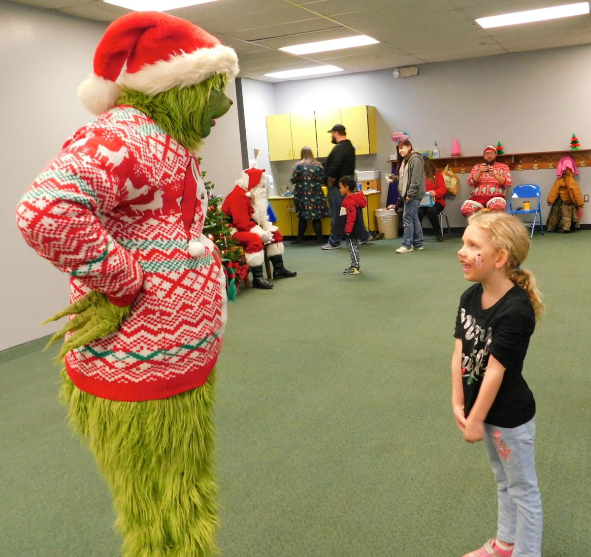Talking to The Grinch