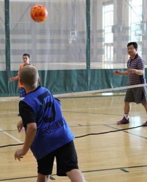 Marshall visiting scholar invents sport to increase activity in youth, seniors