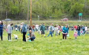 Eagles host annual egg hunt