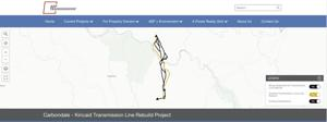 Transmission line route upgrades planned in Fayette