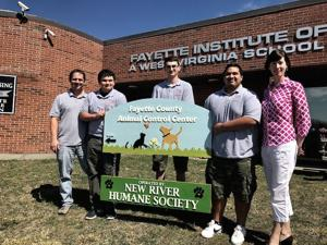 Class designs new sign for local animal shelter