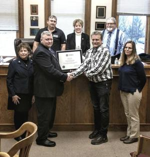 County recognized for floodplain management program