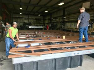 West Virginia firm creates dock system in Nicaragua