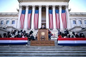 Officials sworn in during West Virginia inauguration