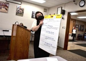 County nears decision on learning model