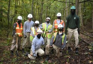 AmeriCorps NCCC sews seeds for future success in Beards Fork