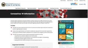 State Department of Education creates Coronavirus best practices website