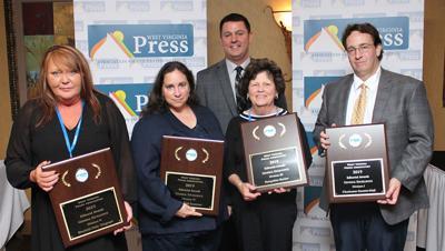 Four newspapers earn West Virginia Press Association Editorial