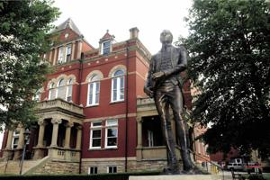 Fayette County Courthouse visits discouraged; library system closes