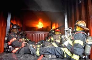 Firefighters settle in at new training center