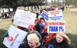 Eroding benefits, low wages challenged