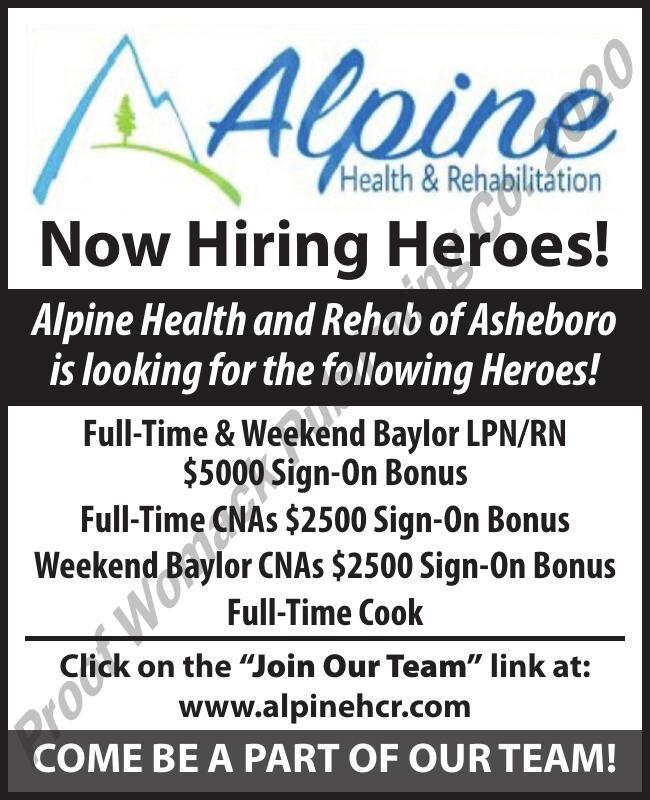 ALPINE HEALTH & REHAB