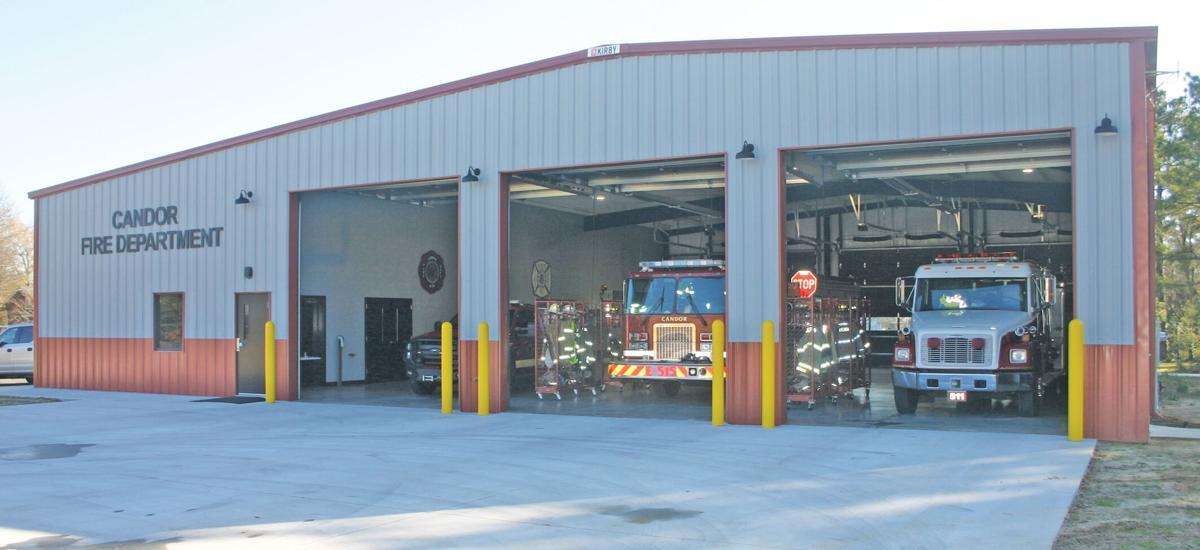 New Candor fire station
