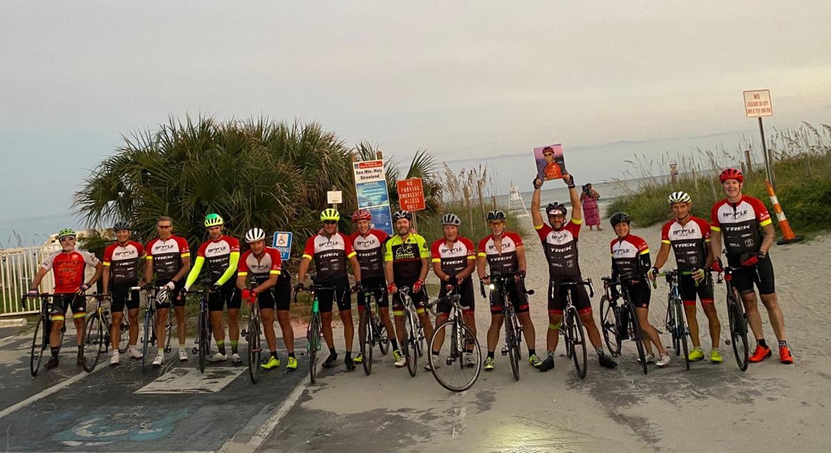 Kyle Richardson memorial ride group photo