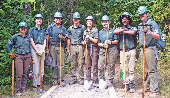 North Carolina Youth Conservation Corps Revitalizing forest