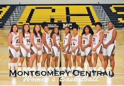 Timberwolves girls' basketball team photo