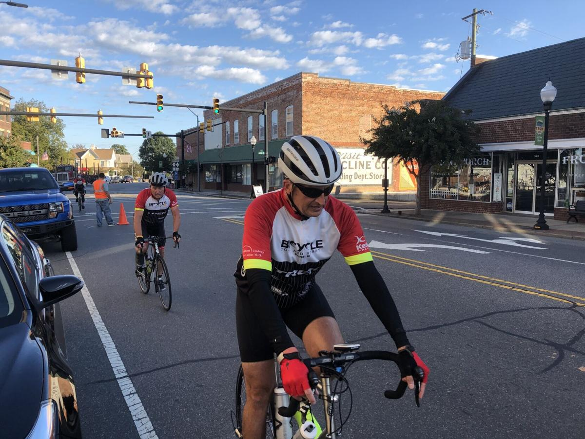 Downtown Troy riders