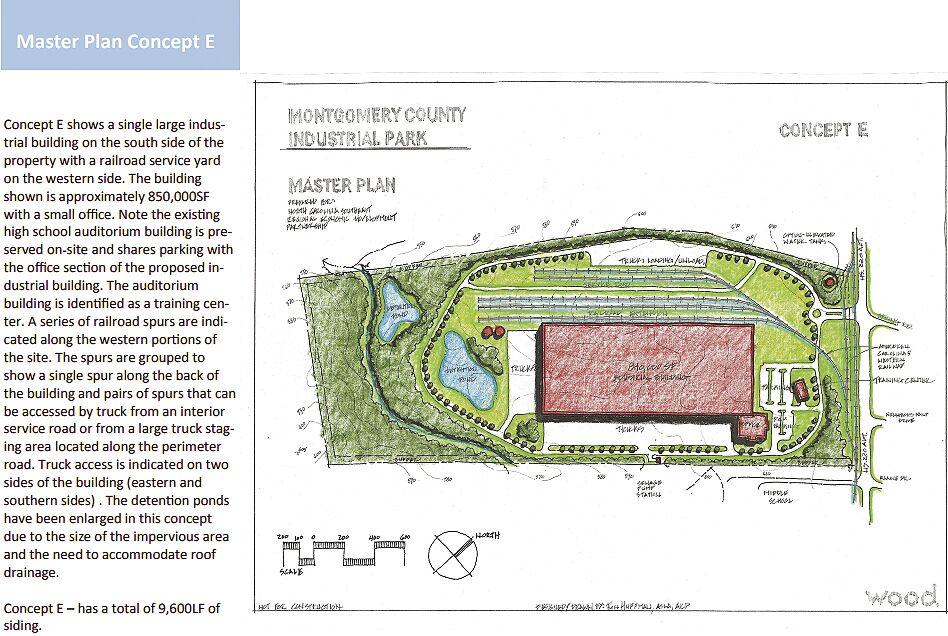 School site plans - E