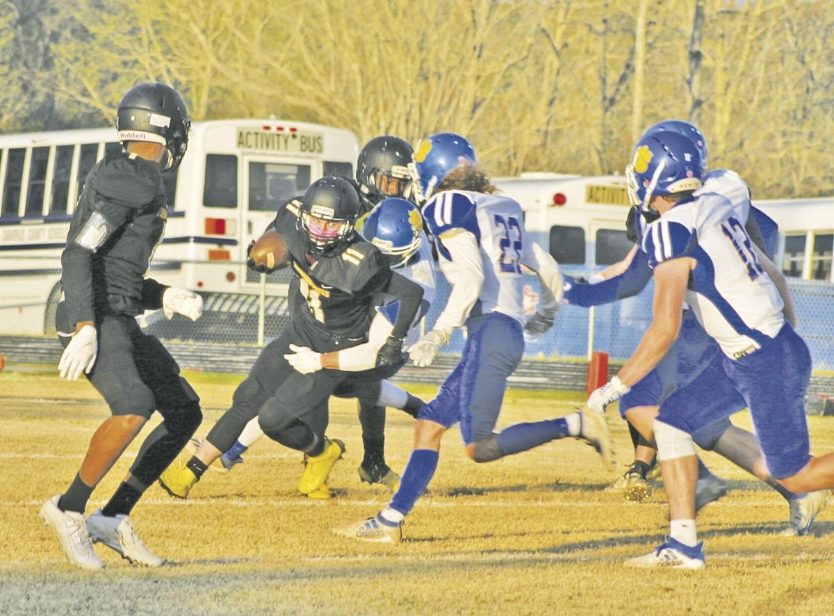 Through the defense