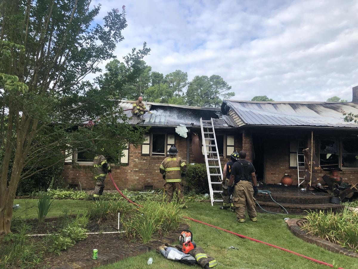 House fire claims life