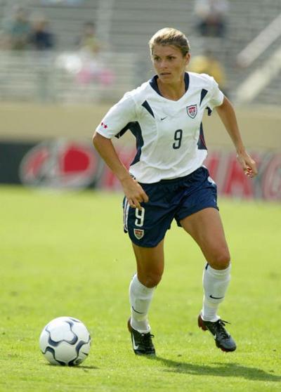 Former Olympian Mia Hamm