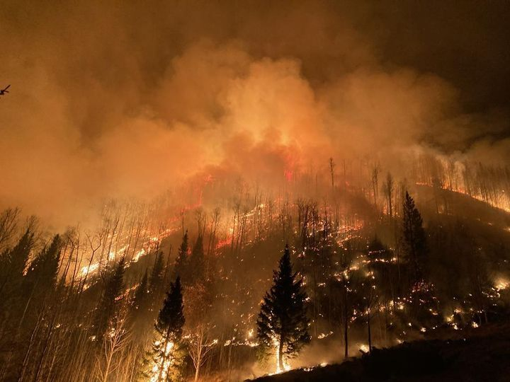 Drought conditions fuel late-season fires