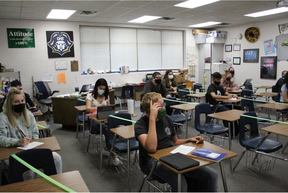 PHOTOS: Olathe Pirates return to in-person learning