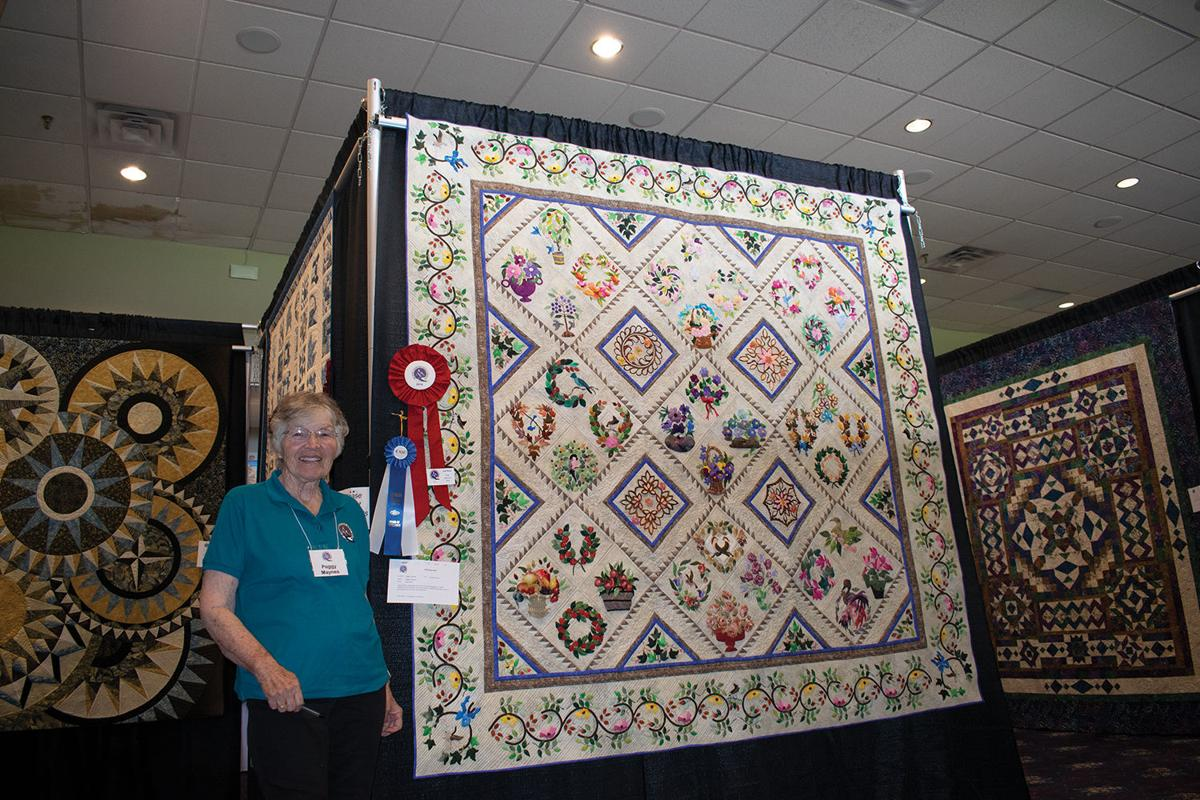 Peggy J Maynes Black Canyon Quilt Show