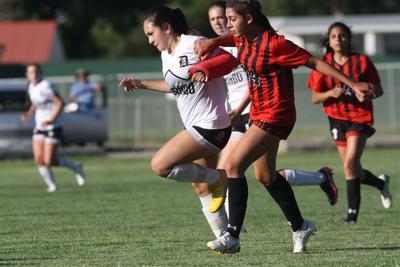 Montrose girls soccer Natalie Hernandez v Durango at home